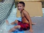 Boy at Pool