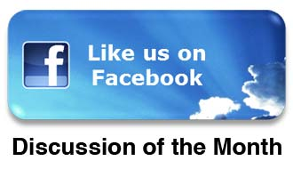 Like us on Facebook - Discussion of the Month