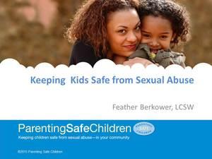 Parenting Safe Children Workshop