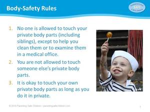 Body-Safety Rules