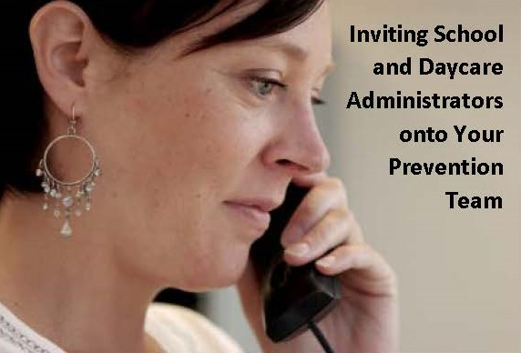 Inviting Administrator onto Prevention Team