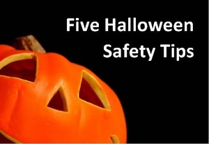 Five Halloween Safety Tips