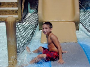 Boy in Pool 2
