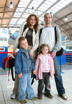 Family at Airport 2