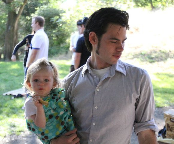 Sammy with daughter