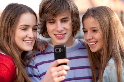 Teens and phone